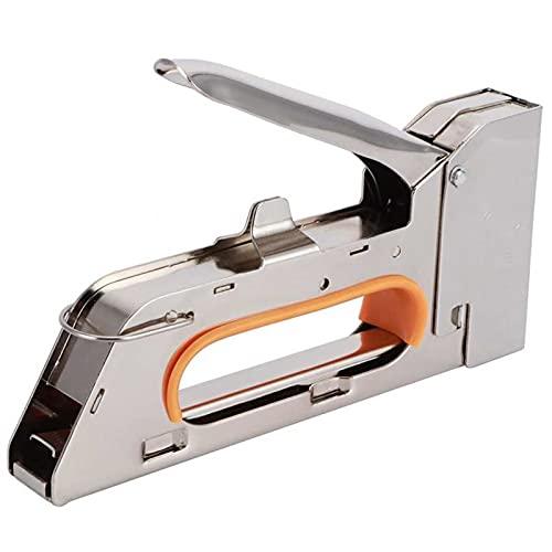 FENGYZ Pistola de Clavos de la Mano portátil 1008J Modelo Staple Stapler Herramientas de carpintería Accesorios Grapador Grapador eléctrico Herramientas eléctricas