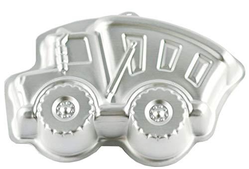 WDYJMALL 33 cm Truck Form Aluminium 3D Kuchen Form Backform Backform Backform Kuchen Form LKW