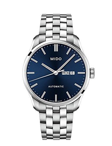 MIDO Herren Analog Quarz Uhr mit Edelstahl Armband M0246301104100