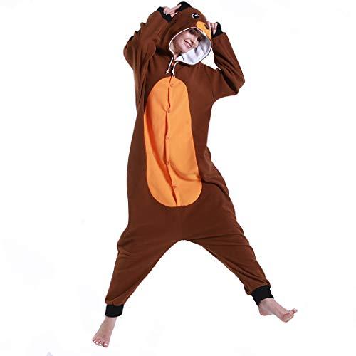FORLADY Pijamas de Animales Pijamas de Halloween Animal Cosplay Disfraz Adulto