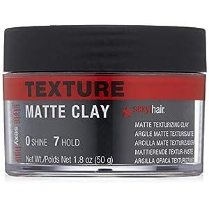 Beauty Shopping SexyHair Style Matte Texturizing Clay, 1.8 oz