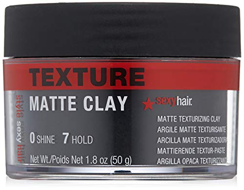 Beauty Shopping SexyHair Style Matte Clay Matte Texturizing Clay, 1.8 Oz