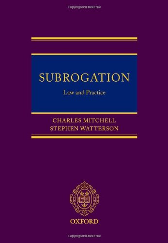 Subrogation: Law and Practice