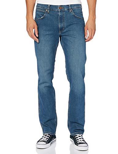 Wrangler Greensboro Jeans, Hunter Blue, 38W x 34L Uomo