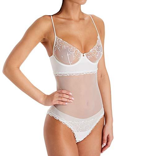 La Perla Women's Petit Jardin Underwire Bodysuit 04357 32B Off White