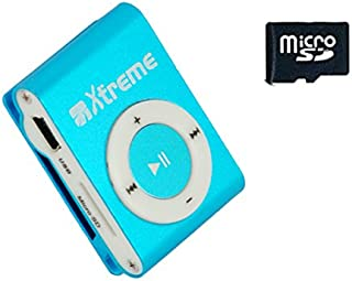 Xtreme 27632b Audio Files Player with Earphones, Mini USB Cable and Memory 4 GB