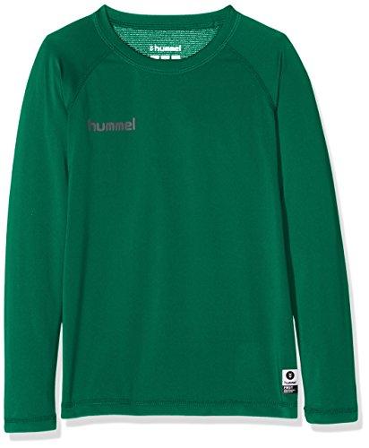 hummel Kinder First PERF Long Sleeve Jersey Trikot, Evergreen, 140