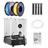 TELAM Box Di Asciugatura Per Filamenti 3D Dryer Box Per Filamento Stampante 3D Stoccaggio PCT Riscaldamento Monitoraggio Della Temperatura Compatibile Con Filamenti 3D Da 1,75 mm, 2,85 mm, 3,00 mm