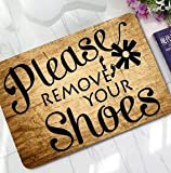 Por favor, sácate los zapatos
