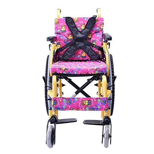 Inicio Accesorios Idea simple Silla de ruedas plegable ligera para niños mayores Conducción médica Sillas de ruedas para ancianos para niños pequeños Carros portátiles para discapacitados Manual pa