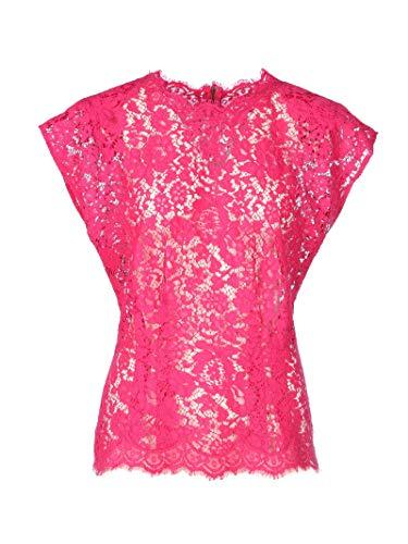 Luxury Fashion | Dolce E Gabbana Dames F73Z5THLMHWF0382 Fuchsia Polyamide Blouses | Lente-zomer 20