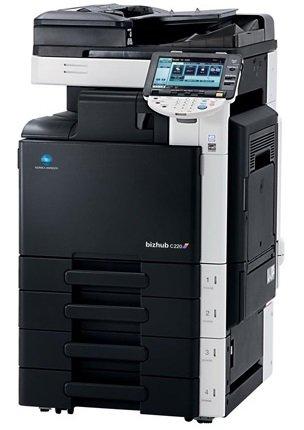 Konica Minolta Bizhub C 220 A3 Farbkopierer Netzwerk-Drucker Scanner Fax