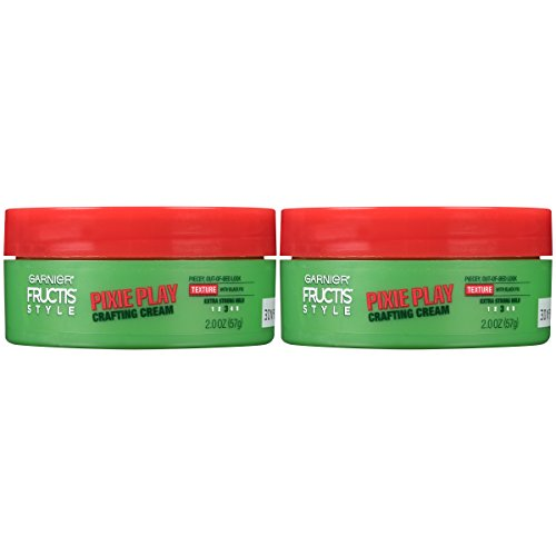 Garnier Hair Care Fructis Style Pixie Play Crafting Cream, 2 Count, Texture, 4 Oz