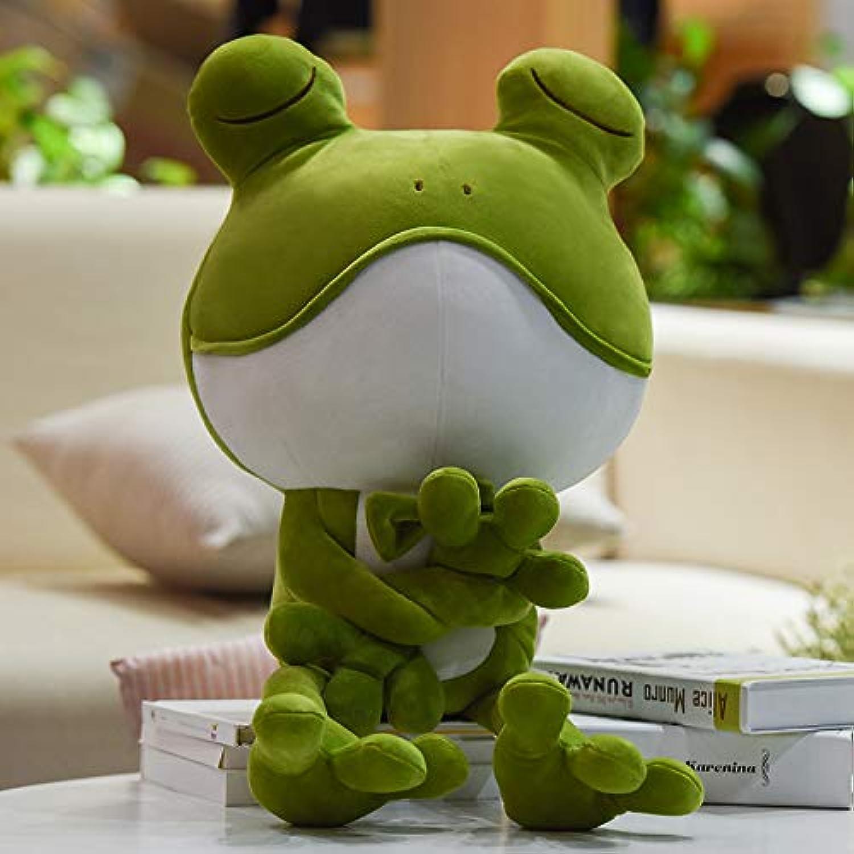 DONGER Weiche Groe Augenfrosch Süe Puppe Spielzeug Cartoon Puppe Jungen Geburtstagsgeschenk Für Freundin, Weiche Krper Frosch, 55 cm