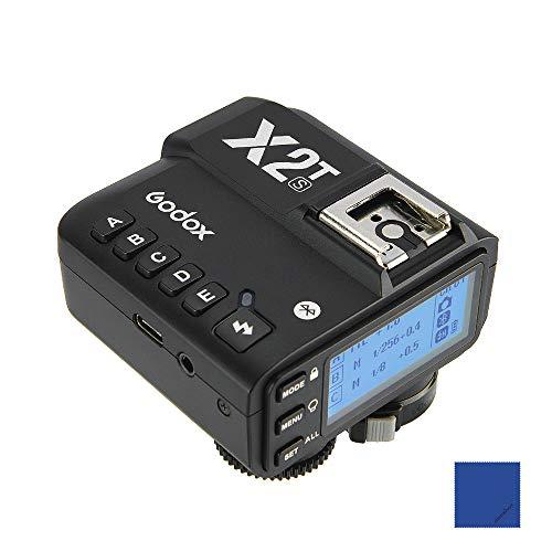 Godox X2T-S TTL 2,4 G kabelloser Blitzauslöser 1/8000s HSS Transmitter für Sony-Kamera für Godox V1 TT350S AD200 AD200Pro (innovative...