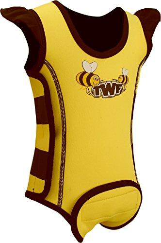 TWF - Neopreno para Surf, Color Amarillo, Talla UK: 6-12 Meses
