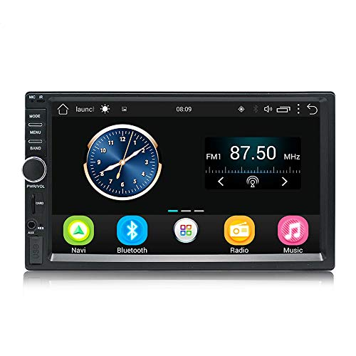 KX011 Android Car Stereo GPS Navigation Quad Core Autoradio AM FM RDS 2 Din Touch screen da 7 pollici 1024 * 600 BT SWC1GB RAM 16 GB ROM Supporto DVR Wi-Fi
