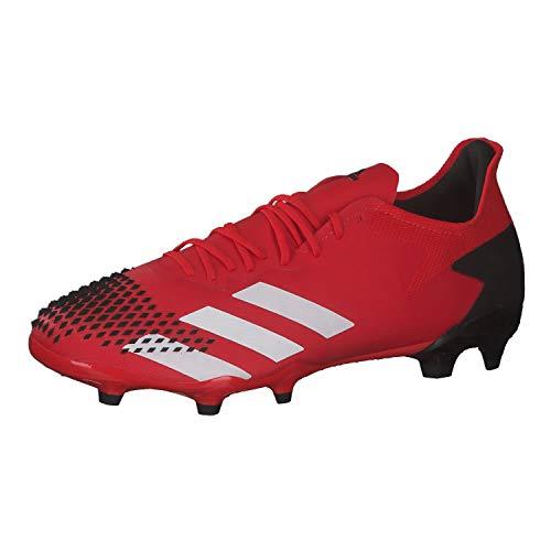 adidas Mens EE9553_40 Football Cleats, Aktiv Rot FTWR Weiss Kern Schwarz, EU