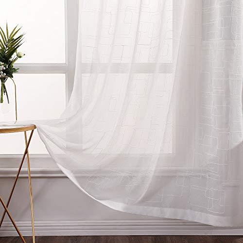 cortinas ventana rectangular