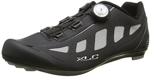 XLC Erwachsene Pro Road Shoes CB R06, Schwarz/Grau, 38, 2500086000