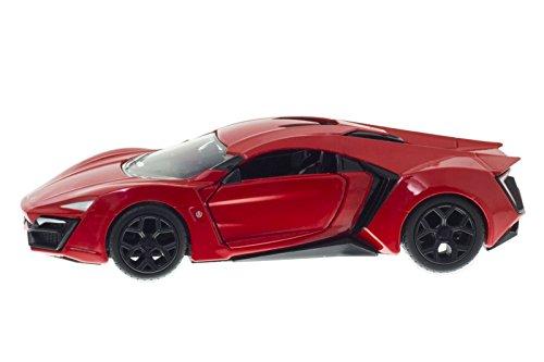 Lykan Hypersport Jada 1/32, Rouge, à partir de Fast & Furious Vol 7