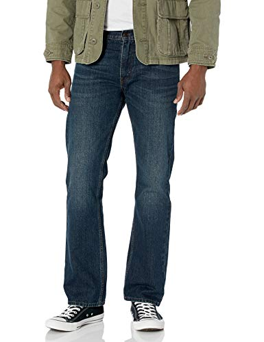 Levi's 527 - Pantalones vaqueros Overhaul para hombre, talle bajo, corte bootcut 28/30