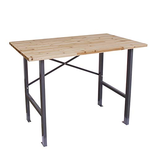 Werkbank   Werktisch 116x70x85 cm (LxBxH) Belastbarkeit 200 kg   Holz-Arbeitstisch Packtisch Werkstattisch Ablagetisch