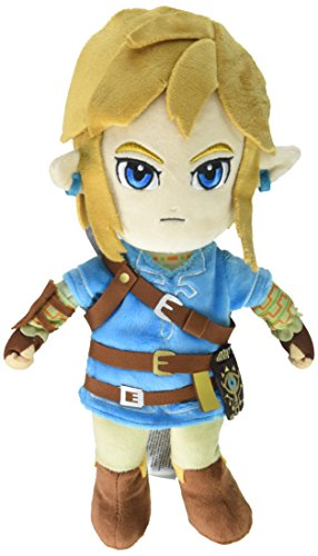 Little Buddy The Legend of Zelda Breath of The Wild Link Stuffed Plush, multi-colored, '11''' (1638)