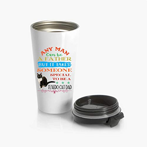 KEER It Takes Someone Special To Be A Tuxedo Cat Dad Tumbler 20oz