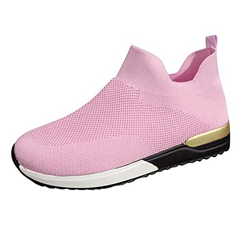 Corlidea Zapatillas de senderismo para hombre y mujer, zapatillas de deporte, zapatillas para correr, tenis, tiempo libre, calzado para correr por la calle, modernas, ligeras., color, talla 38 EU