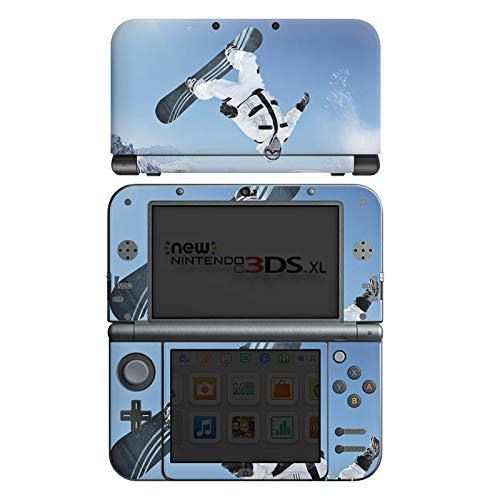 DeinDesign Skin kompatibel mit Nintendo New 3DS XL Aufkleber Sticker Folie Snowboard Snow Schnee