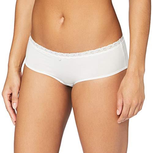 Marc O'Polo Body & Beach Damen Panty Panties, Weiß (Off-White 102), 38 (Herstellergröße: M)