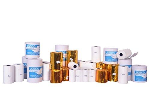 JOSCO Paper Rolls Thermal Paper Rolls (57mmx 30m) - Pack of 10