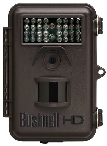 Bushnell 8MP Trophy Cam HD Hybrid Trail Camera with Night Vision, Brown