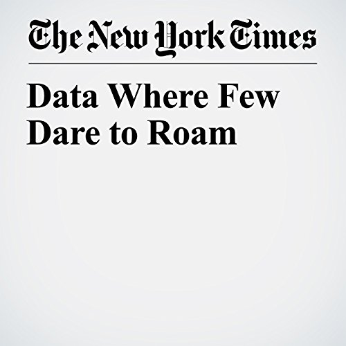 Data Where Few Dare to Roam copertina