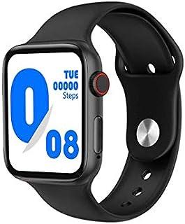 ساعة ذكية G63L تقوم بقياس درجة حرارة الجسم ونسبة الأكسجين في الدم و قياس نبطات القلب وضغط الدم وتنبيهات المكالمات والرسائل...