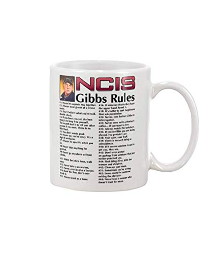 N\A Taza Reglas de NCIS Gibbs