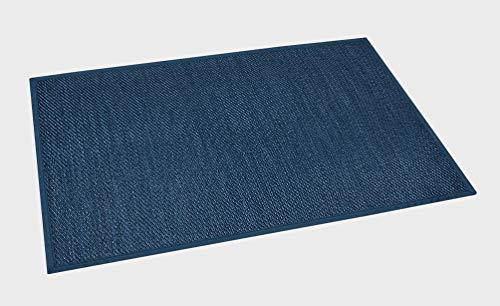 Estores Basic Living Color Vinilo, Azul, 60x90cm, Antideslizante, Alfombra para salón Modernas, Marino