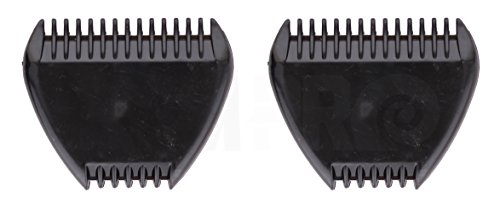 2 RAM-PRO Manual Mini Hair Trimmer 3-Razor Blades Trimming Hair Bikini Area Sideburns Face Grooming Touch-ups