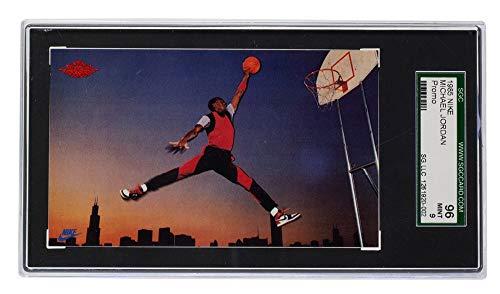 Michael Jordan 1985 Promo Chicago Basketball Card SGC MT 9