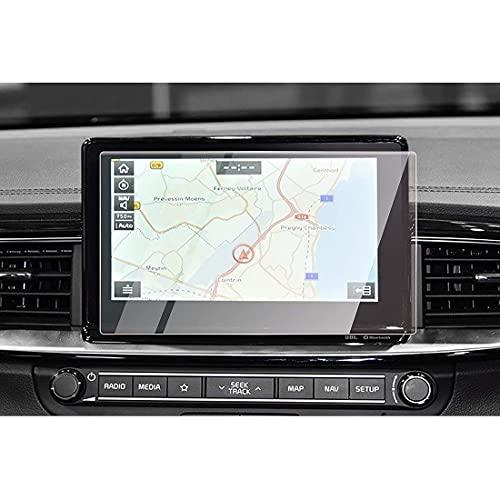 NTUOO 8 Inches Coche GPS Protectores Pantalla, para Kia Ceed CD GT 2019 Navigation Display Screen Vidrio Templado Protector Film Antirrayas Stickers, Electrónica Accesorios