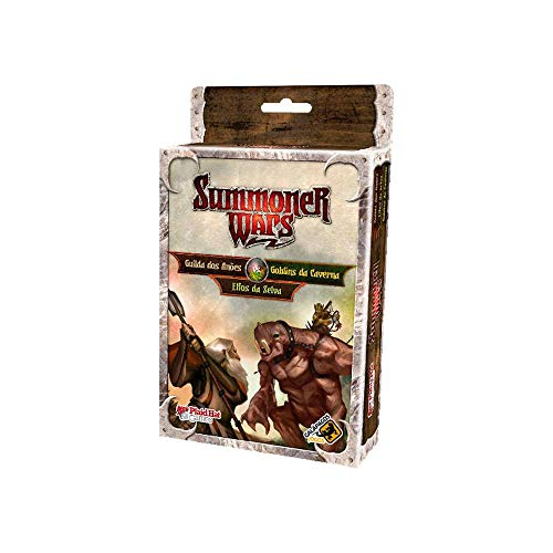 Guilda dos Anões vs Goblins da Caverna vs Elfos da Selva: Summoner Wars - Galápagos Jogos