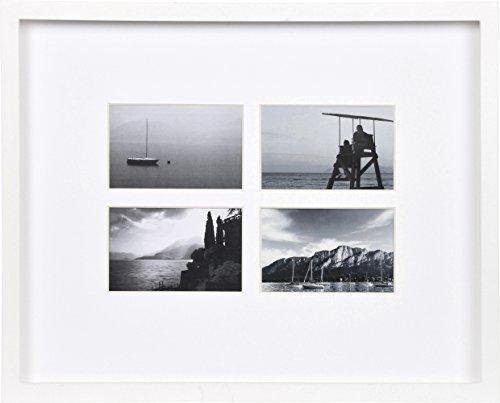 Henzo Dreams 4x10x15 Frame wit fotolijst, hout, 10 x 15 x 4,6 cm, 4 stuks