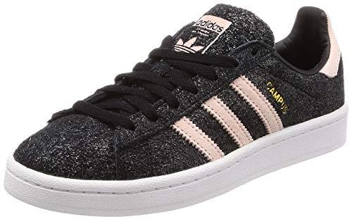 adidas Damen Campus W Sneakers,Schwarz (Negbás/Roshel/Balcri 000), 38 EU