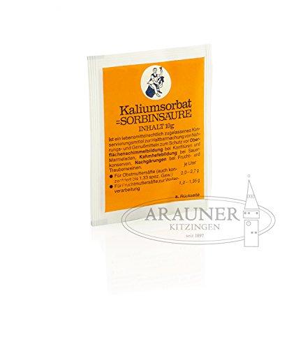 Kaliumsobat = Sorbinsäure Konservierungsmittel 10g