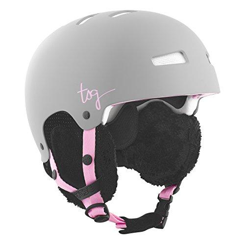 TSG Damen Helm Lotus Solid Color, Satin Mud Grey, L/XL