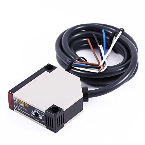 Interruptor fotoeléctrico fotoeléctrico, distancia del dispositivo de conmutación Interruptor especular de haz reflejado anti-luz Aleación de aluminio