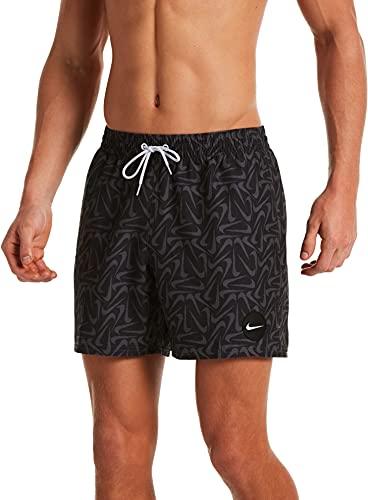 Nike 12,7 cm Volley-Shorts für Herren, Herren, Schwimm-Slips, NESSA520-001, schwarz, XL
