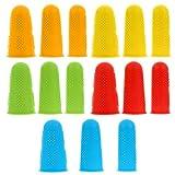 Toddmomy 15 Stück Fingerlinge Silikon Fingerschutz Unterstützung Finger Kappen rutschfest...