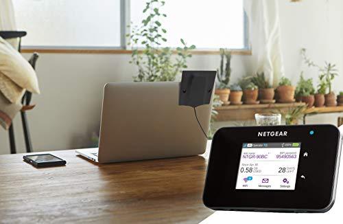 Netgear 6000450 externe MIMO TS9-Antenne mit 2,5 dBi Signalverstärkung für 3G/4G Mobile Hotspots, Aircards und LTE Router (Kabellänge 100 cm, 2x TS9-Anschlüsse)
